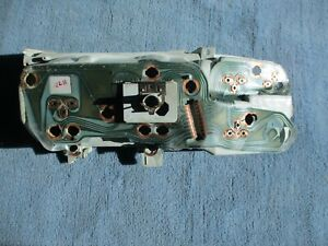 1979 1980 Chevy GMC Pickup Dash Cluster Housing w/ Printed Circuit Original GM