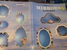 Patterns For Mirrors & Frames Craft Painting Book-Wardell-Flowers/Birds/Trees/Sa