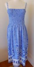 Bali Summer Ladies  Shirred  Dress Plus Size   22 24 26 28