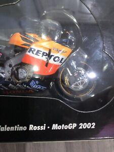 Minichamps 1: 12 Honda RC211V Repsol Honda Team Valentino Rossi GP 2002 1st Ed