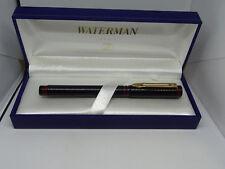 Watermans Penna stilo - dettalgi nero e rosso