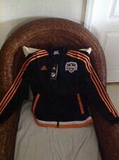 Adidas Houston Dynamo mls soccer  Track anthem jacket  new with tag size M women
