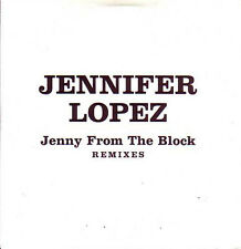 CD Single Jennifer LOPEZ	Jenny from the block REMIXES PROMO 7-track CARD SLEEVE