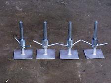 Set de 4 réglable pieds plaques base classique échafaudage tours toptower