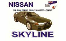 OWNER'S MANUAL FOR NISSAN SKYLINE GTR R32 RB 26DETT RB20DE RB25 HAND BOOK JPNZ3