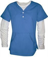 Nwt Koi Harlow Women Nursing Uniform Henley Top 2-Piece Set Kangaroo Pocket#123