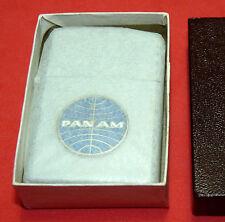 VINTAGE PAN AM AIRLINES 1950's PENGUIN LIGHTER ~ UNUSED ~ ORIGINAL BOX MIB NOS