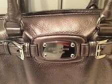 "MICHAEL KORS ""FT LG"" Satchel, Gunmetal $398 OBO (retail $398)"