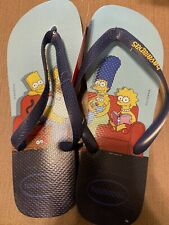 Havaianas flip flop The Simpson's sandals size US 13/M NEW NWT Out Of Print