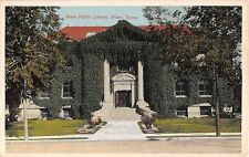 c.1910 Waco Public Library Waco TX post card