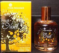 YVES ROCHER Fruit de Noel - MARVELOUS FRUIT - Eau de Toilette 1.7 fl.oz - NEW