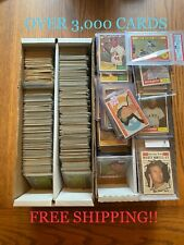 1961 Topps Baseball - #1-#150 - Complete your set CHEAP! - OVER 3,000 CARDS!