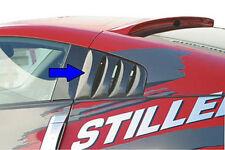 Fits 03-08 350Z Street Scene Stillen Urethane Window Louvers Unpainted 950-70328
