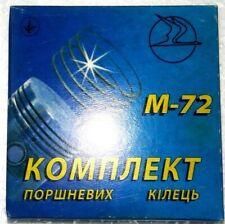 Piston Rings, 78.20 mm for K-750, M-72, Dnepr (MB-750)