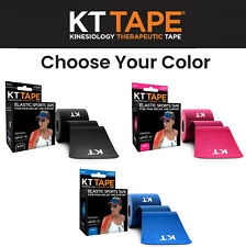 Kt Tape Cotton Original Kinesiology Therapeutic Sports Active Pain Relief Colors