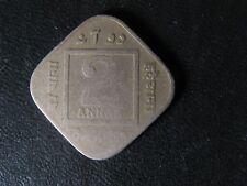 2 annas 1919 British India KM#516 Inde britannique King George V Copper-Nickel