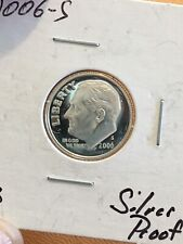 BEAUTIFUL SILVER CAMEO PROOF 2006-S ROOSEVELT DIME    PH303