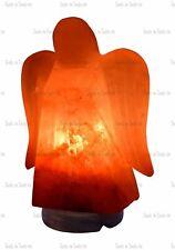 Ange Forme Électrique Himalayen Sel Table Lampe Cristal Rock Naturel Ioniseur