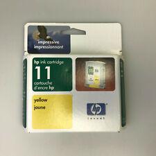 HP ink cartridge 11 C4838AN Yellow business inkjet 220 2230 2250 2280 2600 10ps