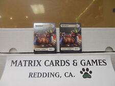 MTG SCG Game 2 Foil Reindeer tokens *NEW*  -Matrix Cards and Games-