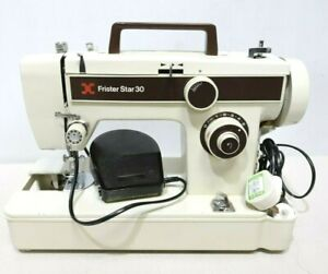 FRISTER ROSSMANN Model STAR 30 Electric Sewing Machine with Foot Pedal - 250