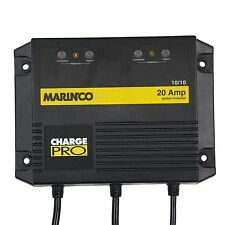 Marinco 28220 20A Dual Output On Board Marine Boat Battery Charger