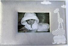 BABY KEEPSAKE PHOTO ALBUM RECORD BOOK FIRST THREE YEARS WITH GIRAFFE & ELEPHANT