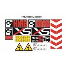 Sticker, aufkleber, decal - Crane HIAB series XS - 066 166 122 144 099 077 055