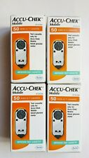 Accu-Chek Mobile BLOOD GLUCOSE TEST STRIPS ~ 4 boxes of 50 strips ~ Exp Sep 2020