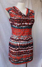Millers Size 16 Shift Dress Mini Stretch Cowl Neck Work Casual Holiday Beach