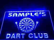 Name Personalized Custom Dart Club Bar Beer LED Neon Light Sign Vodka Darts Game