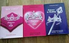 Meg Cabot Princess Diaries #3 Princess in Love,#4 In Waiting,#5 In Pink Hardcovr