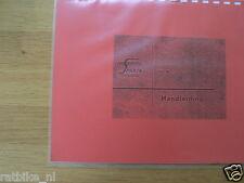 S0209 SPARTA---HANDLEIDING MA 50        48 cc----MODEL