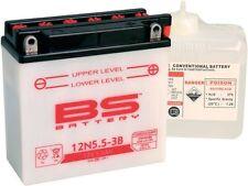 Simson Batterie 12N5, 5-3B pour S 51-S53-MZ ETZ Incluant Pack Acide et Accessoir