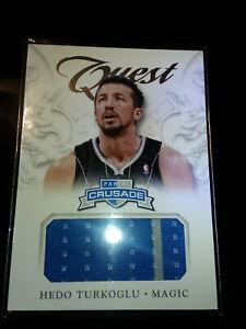 2012-13 Panini Crusade Quest Jersey #19 Hedo Turkoglu Orlando Magic