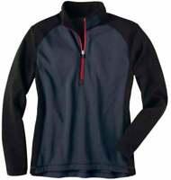 River's End Half Zip Microfleece Layering Jacket  Athletic   Outerwear Grey
