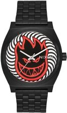 Nixon x Spitfire Fireball Time Teller SS Black Men's Watch 40mm