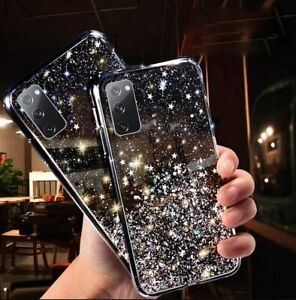 GLITTER Case For Samsung Galaxy S9 S10 S20 FE S21 PLUS A71 A12 Shockproof Cover