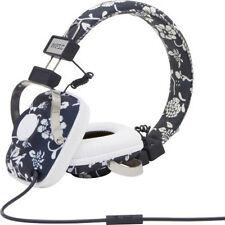WeSC Maraca Hawaii Dark Black Sapphire On-Ear Foldable Headphones w/Mic NIB