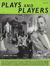 """Noel Coward """"AFTER THE BALL"""" Mary Ellis 1954 London """"PLAYS and PLAYERS"""" Magazine"""