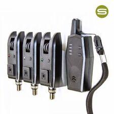 Saber Z3 3+1 Wireless Bite Alarm Set Carp Coarse Fishing Alarms Receiver + Case