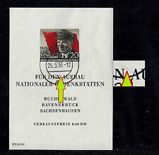 DDR Block 14 II o - gelistet im Michel - Katalog