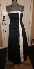 Urban Girl Nites Size 5/6 Black White Lined Evening/Formal/Prom Dress