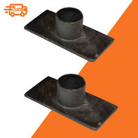 Chime Candle Holder Black Iron Taper Candle Holder Set of 2 Candlestick Occult