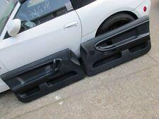 BMW E36 M3 Coupe Türpappen Türverkleidung Vollleder abgenäht individual Schwarz