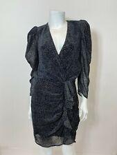 BA&SH Celia Dress in Black Size M $435