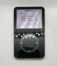 iPod Classic Video 128GB SSD upgrade - 5th gen enhanced 5.5, black (new battery)
