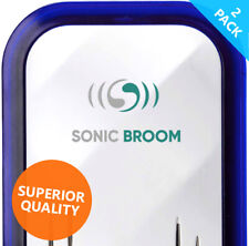 More details for 2x ultrasonic pest repeller - sonic broom 2. spiders mouse rats insects mice
