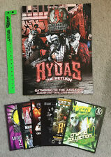2011 Gathering of the Juggalos 12th Annual booklet inserts and wristband new Icp