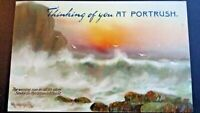 1910 Tucks Post Card Portrush Co Antrim Wild Waves Northern Ireland
